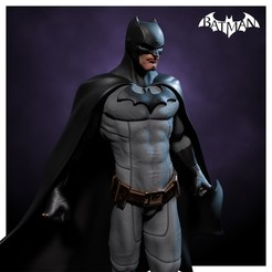 batman 4.jpg Download 3MF file Batman - Dark Knight - Statue • Template to 3D print, NachoCG
