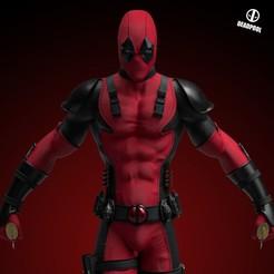 1.jpg Download 3MF file Deadpool Statue 3D print model • 3D printer template, NachoCG