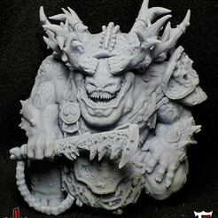 CoverV3.jpg Download STL file Archdemon of decay • 3D printable design, The5_1