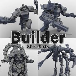CultsSplash.jpg Download STL file Combat Robot Builder - 80+ Parts • 3D printer model, The5_1