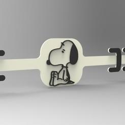 extensor Snoopy.jpg Download STL file ear saver for masks • 3D printable model, 3Dreams_