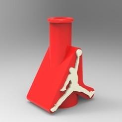 "Render 01.jpg Download STL file Bong Mouthpiece / Shisha ""Jordan"" • 3D print template, 3Dreams_"