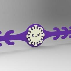 RENDER 02.jpg Télécharger fichier STL ÉCONOMISEUR D'OREILLES POUR LES MASQUES • Modèle à imprimer en 3D, 3Dreams_