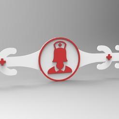 render.jpg Download STL file EAR SAVER FOR MASKS • 3D printer template, 3Dreams_