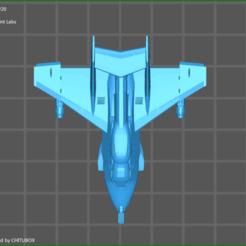 screenShot_Tomahawk_THK-63b_-_SPL 3.png Télécharger fichier STL gratuit Navette en colère mk2 (tomahawk) • Modèle pour imprimante 3D, sageprintlabs