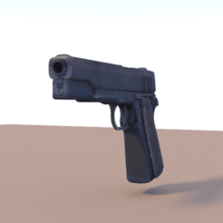 Simple Handgun.png Download STL file Simple Handgun • Object to 3D print, siddharth13145