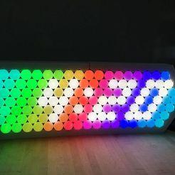 ppbclocksmall.jpg Télécharger fichier STL gratuit Exposition de balles de pong • Plan à imprimer en 3D, pyrohmstr