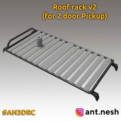 preview-v2_1.jpg Download STL file Roof rack v1 for 3D Printed Hummer H1 by [AN3DRC] • 3D printing design, AntNesh