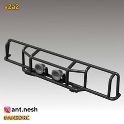 v2a2.jpg Download STL file Bull bar v2a2 by [AN3DRC] • 3D print design, AntNesh