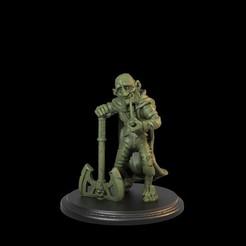 1.81.jpg Download STL file Old Hobbit Adventurer • 3D printing design, TytanTroll_Miniatures