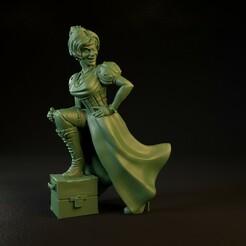 Susie.0001.jpg Télécharger fichier STL Susie et sa boîte [Pré-assistance professionnelle] • Plan imprimable en 3D, TytanTroll_Miniatures