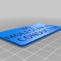 a8304faca0d22bc4f4aecb3c87a85351.png Télécharger fichier STL gratuit PAS DE MOLESTAR • Design pour impression 3D, mario_becerra92