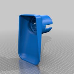 Hornady_Dram_Works_Funnel_v2b.png Télécharger fichier STL Entonnoir à poudre avec tamis Version 2b. Conçu pour le silo à poudre de Dram Worx REMIX conçu à l'origine buy Out_Of_The_Box_Thinking • Design pour imprimante 3D, NomadV