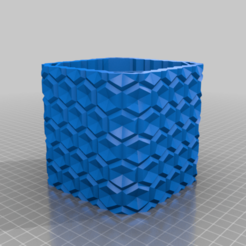 lamp_mod.png Download free STL file (REMIX!!) geometric Lamp shade • 3D printing model, SPEKERDUDE