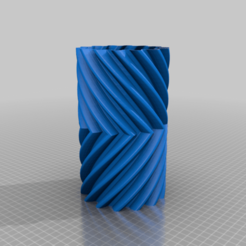 AI3M_helical_gear_vase.png Download free STL file Helical Gear Vase • 3D printer object, SPEKERDUDE