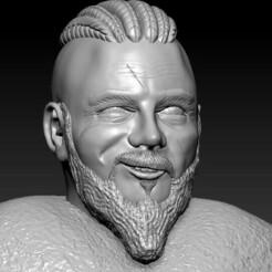 WhatsApp Image 2021-01-24 at 2.06.11 AM.jpeg Télécharger fichier STL Ragnar Lothbrok • Modèle pour impression 3D, hernandezarismendiz4im15