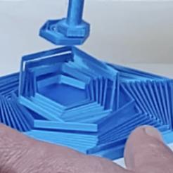 Descargar archivo STL gratis Hexágonos satisfactorios • Objeto para impresora 3D, iambyrdman
