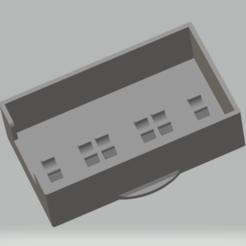 qed_cover_older.png Télécharger fichier STL gratuit QED PL2 & PL3 Couvercle de batterie pour 2x 18650 Li Ion Battery Holder • Design imprimable en 3D, BigNoel