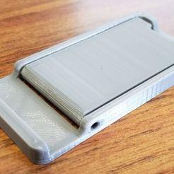 Image 1.JPG Télécharger fichier STL Support pour mini téléphone • Modèle imprimable en 3D, david04