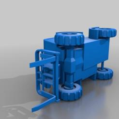 3058c63fdd46bd7c5d299225efdbf29c.png Download free STL file Forklift truck with telescopic arm • 3D print design, TraceParts