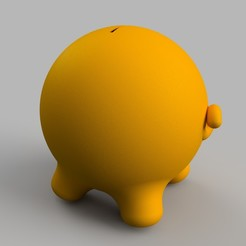 coin_bank_1.jpg.jpg Download STL file Piggy bank • 3D printer object, 3DUNYAX