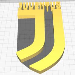 Imdsfsmagine.png Download OBJ file juventus logo • 3D print design, marcomecca
