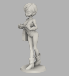Télécharger fichier STL gratuit Sexy Chirai • Plan pour imprimante 3D, 3DAnime