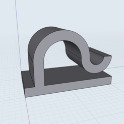 IMG_0043.png Download free STL file Cord Management Cable Clip • 3D printing template, Garag3D