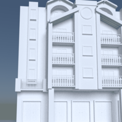 houseee.png Download 3DS file modern apartment building • 3D printing design, ismael2020