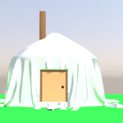 tenda da mongolia1.png Download 3DS file Mongolian tent • 3D printing design, ismael2020