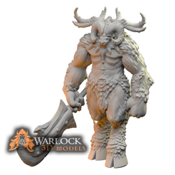 Baphomet_1.png Download STL file Baphomet: The Horned King • 3D print model, warlock3dmodels