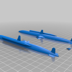 Kairyu__with_Torpedoes-2.png Download free STL file Kairyu • Design to 3D print, jensbarche