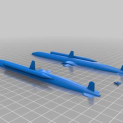 Kairyu__with_Torpedoes-2.png Télécharger fichier STL gratuit Kairyu • Design pour imprimante 3D, jensbarche