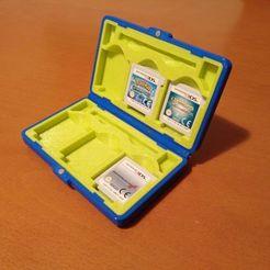 fundacompleta.jpeg Télécharger fichier STL gratuit Porte-cartouche 3ds (étui 3ds) • Plan pour impression 3D, albertolr98