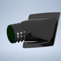 RenderBR.png Download STL file Volvo 240 Front lip duct • 3D print template, BergPerformance