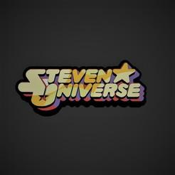 logo.jpg Download STL file Steven Universe logo • 3D print object, genesissarahy