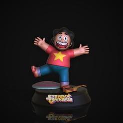 Steven.jpg Download STL file Steven Steven Universe • 3D printer template, genesissarahy