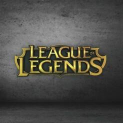 logo.jpg Télécharger fichier STL Logo de la Ligue des légendes • Design à imprimer en 3D, genesissarahy