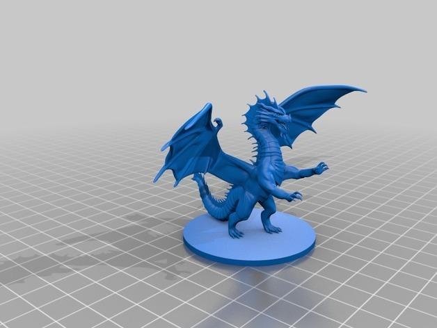 4b872502d4c8eb474af60add23260807_preview_featured.jpg Download free STL file Dragon Sculpture • 3D printing model, knadityas92