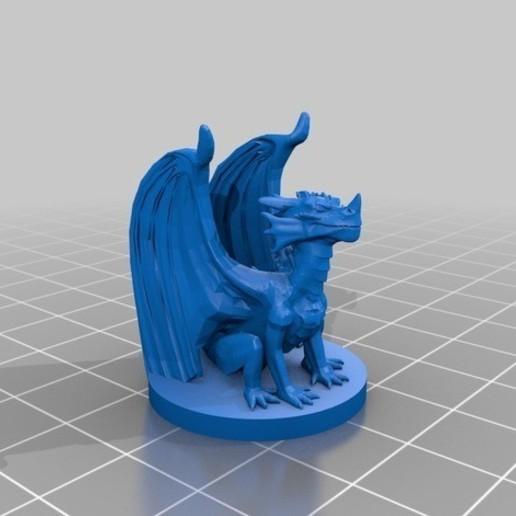 9ebc21bcb1a88eafbfa0d9541eac8550_preview_featured.jpg Download free STL file Dragon Sculpture • 3D printing model, knadityas92