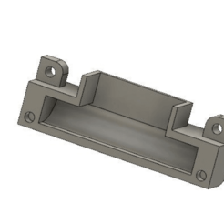 2019-06-25_at_13-58-43.png Télécharger fichier STL gratuit Couvercle de remplacement du flux d'air du ventilateur de la gaine Ender 3 • Design pour impression 3D, knadityas92