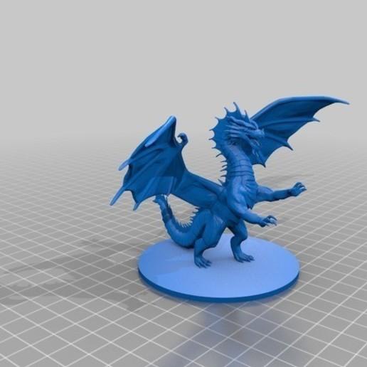 c5b1f31129bfe5ac64ee2df297d0e5dd_preview_featured.jpg Download free STL file Dragon Sculpture • 3D printing model, knadityas92