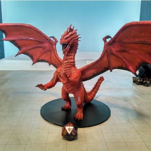 a63dd6b38429bcc9e6da3c70389ceb3a_preview_featured.jpg Download free STL file Dragon Sculpture • 3D printing model, knadityas92