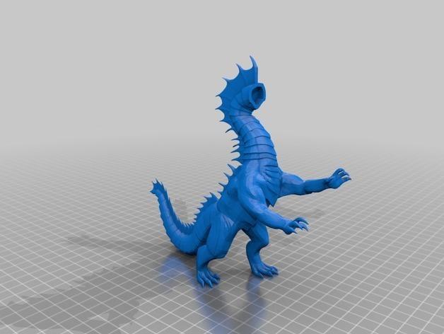601616febac05c950b6a00c6fbc1c770_preview_featured.jpg Download free STL file Dragon Sculpture • 3D printing model, knadityas92