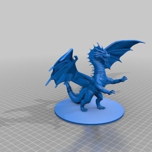 51ac97f47fd1544995b2053a230c2e08_preview_featured.jpg Download free STL file Dragon Sculpture • 3D printing model, knadityas92