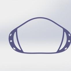 Preview1.jpg Download free 3MF file Mask Rim • Model to 3D print, DesignHub