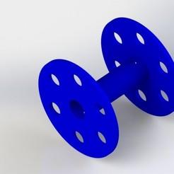 Preview1.JPG Télécharger fichier 3MF gratuit Bobine de fil électrique • Objet pour imprimante 3D, DesignHub