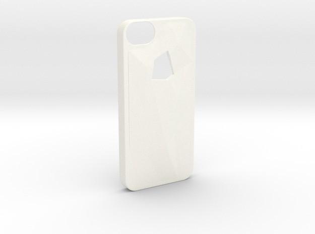 v1.jpg Télécharger fichier STL gratuit Faceted iPhone 5/5s Case - Version 1 • Plan à imprimer en 3D, Fischfluous