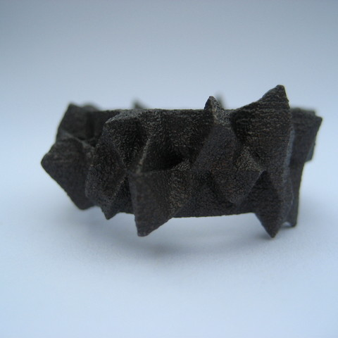 Facets Ring - Part 2 3D printer file, Fischfluous