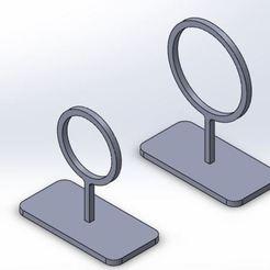 aros2.JPG Download STL file Fishbowl Fish Hoop Set • 3D printer design, 3D_LAB_SALTILLO